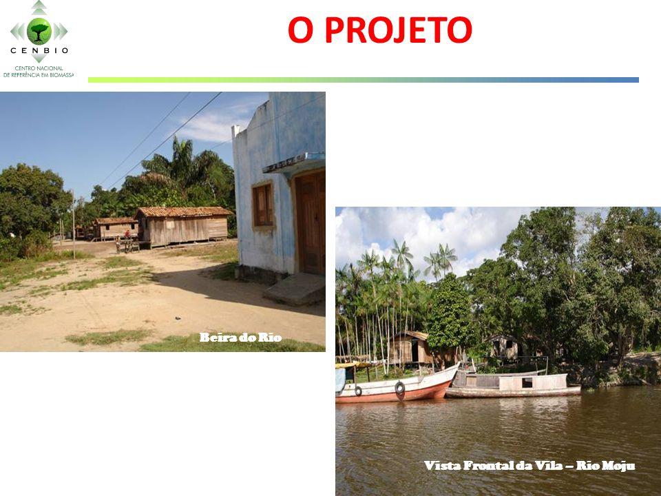 O PROJETO Beira do Rio Vista Frontal da Vila – Rio Moju