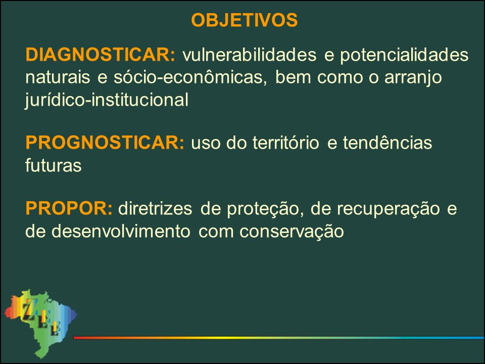 CONSÓRCIO ZEE BRASIL MMA / SDSMI / SPRI IBGEIPEA INPE EMBRAPA CPRM IBAMA ANA