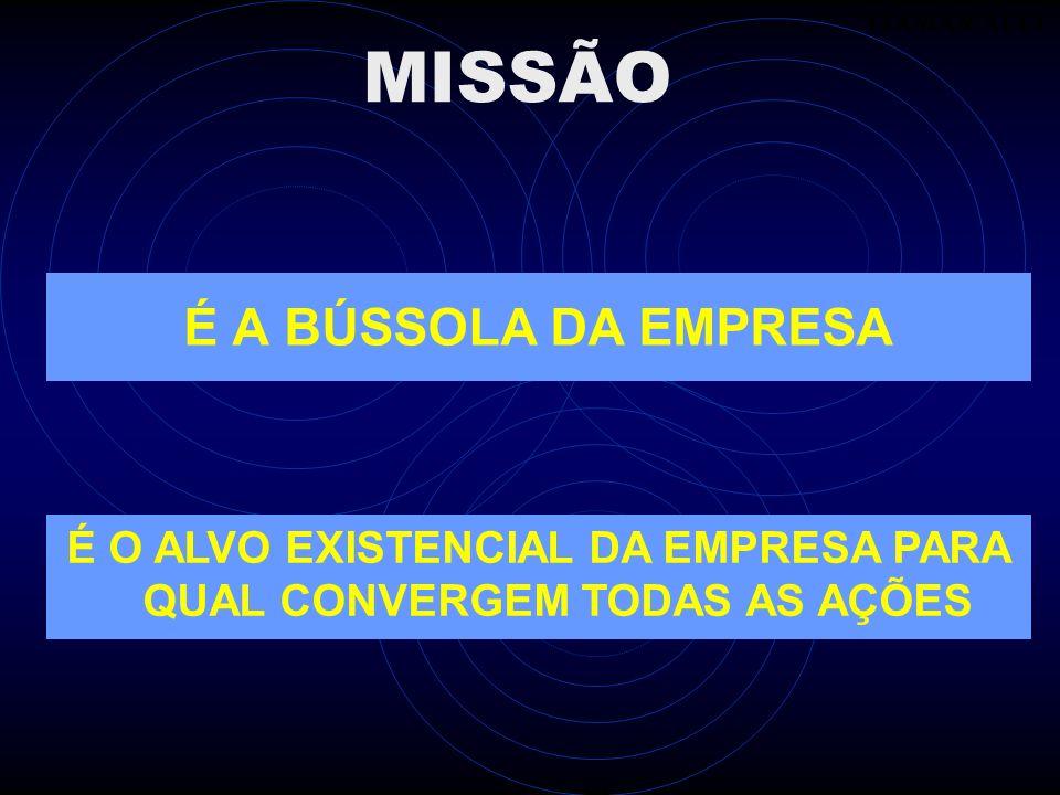 É A BÚSSOLA DA EMPRESA ITAMAR ALLI MISSÃO É O ALVO EXISTENCIAL DA EMPRESA PARA QUAL CONVERGEM TODAS AS AÇÕES