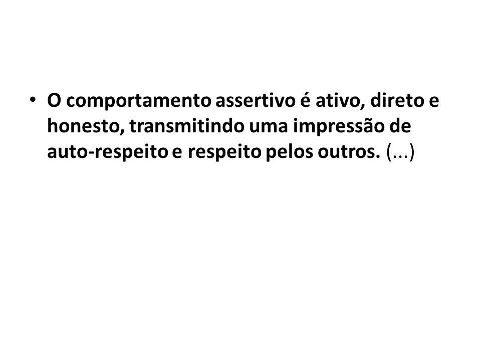 Uma pessoa assertiva vence pela influência, atenção e negociação, oferecendo ao outro a opção pela coorperação.