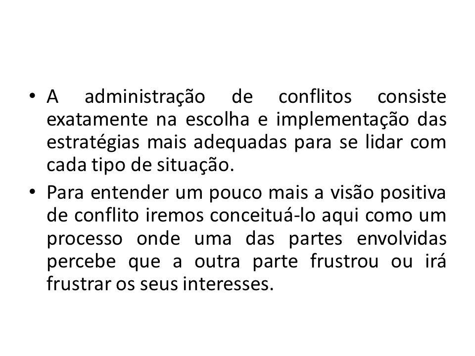 4 Tipos de conflito O conflito é um elemento importante.