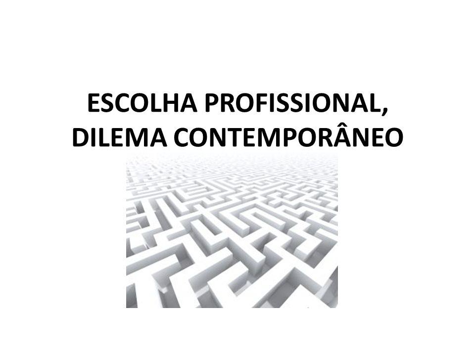 APTIDÃO /INTERESSE: Palavra chave na escolha profissional