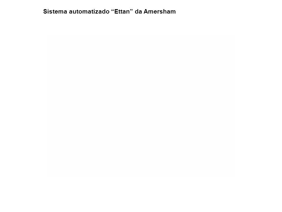 Sistema automatizado Ettan da Amersham