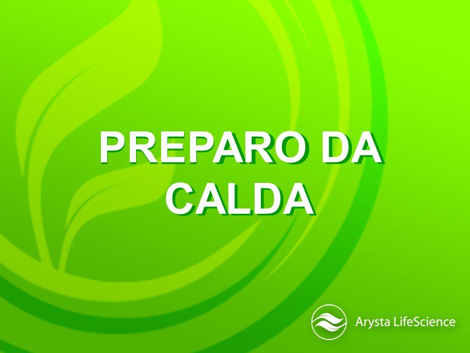 PREPARO DA CALDA
