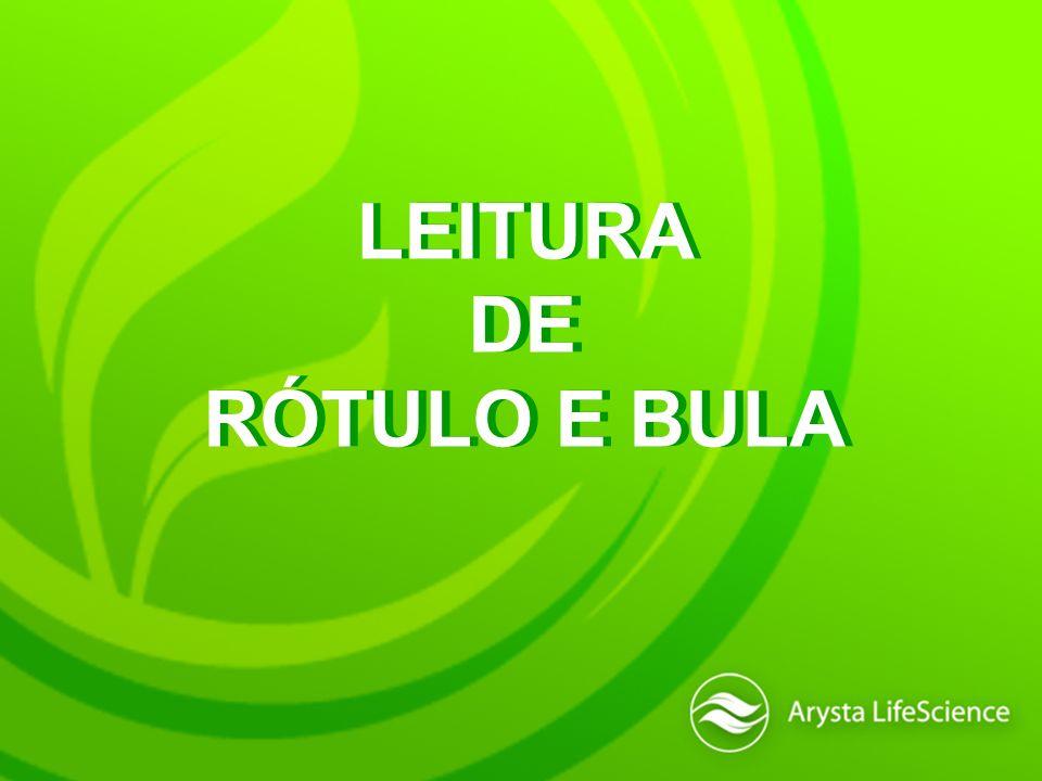 LEITURA DE RÓTULO E BULA LEITURA DE RÓTULO E BULA