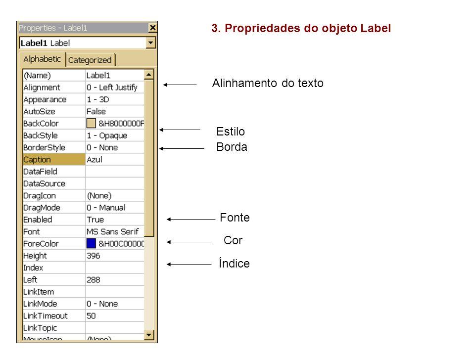 4.Estabelecimento de Índices – Utilização de conjunto de objetos Atividade.