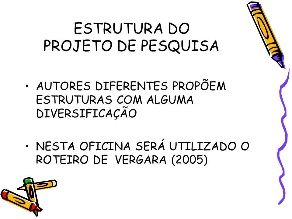 ESTRUTURA (FOLHA DE ROSTO) SUMÁRIO 1.O PROBLEMA 2.