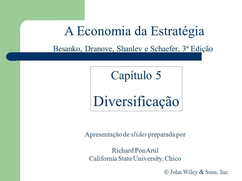 A Economia da Estratégia Apresentação de slides preparada por Richard PonArul California State University, Chico John Wiley Sons, Inc. Capítulo 5 Dive