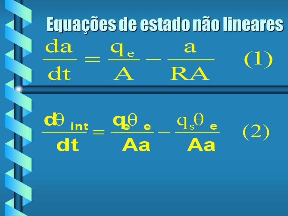 Equações de estado não lineares