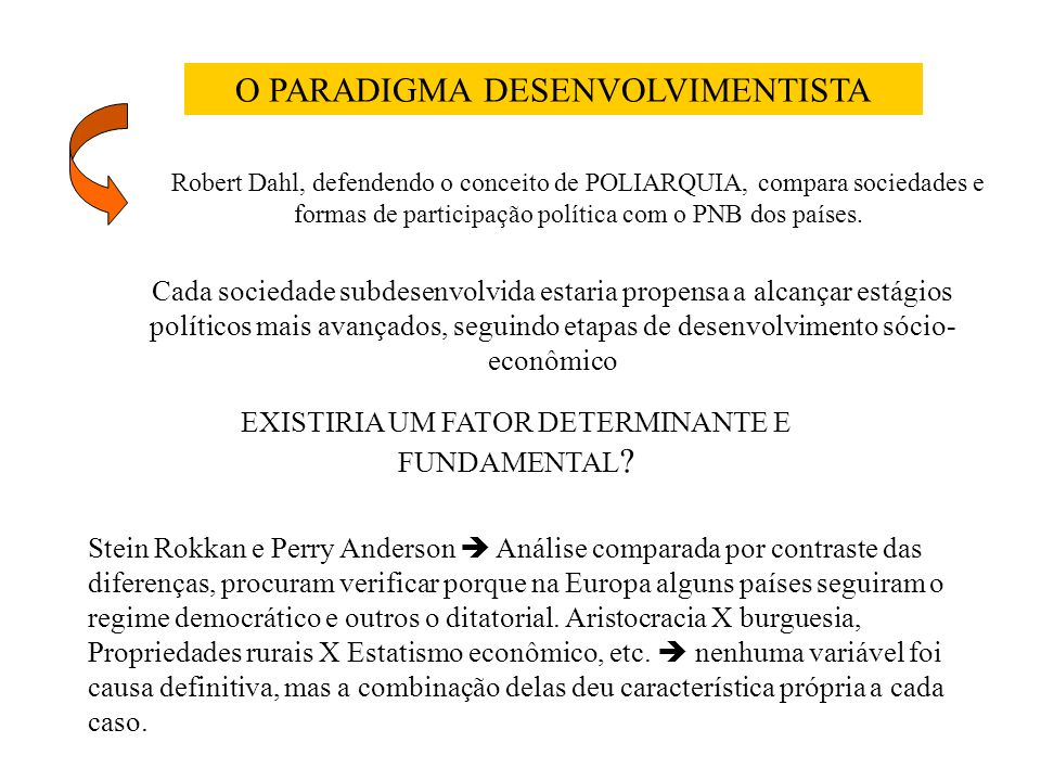 Leonardo Morlino, Problema e opções na comparação, Madri: Aliança Editorial, 1994.