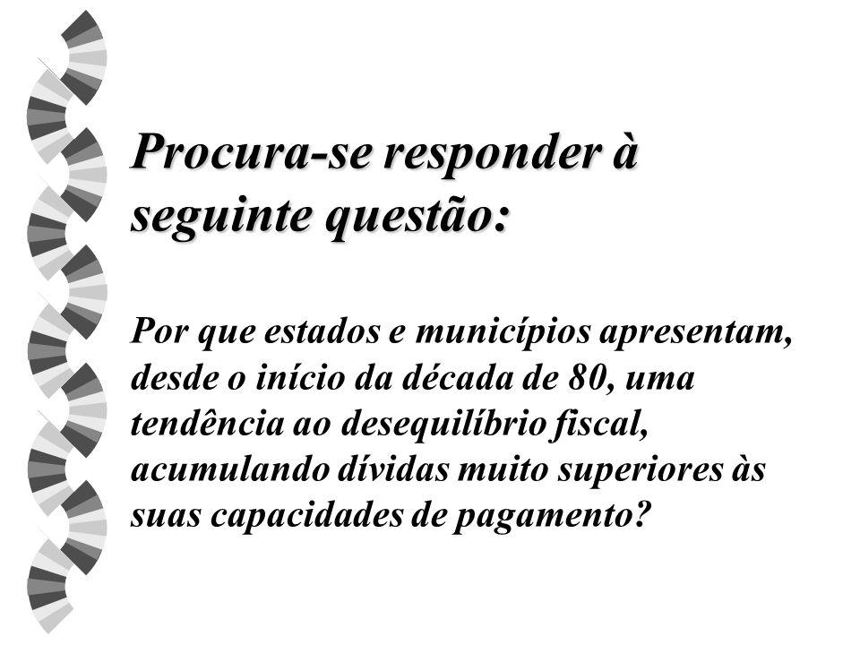 APERFEIÇOAMENTO DA REPRESSÃO FISCAL w Devem ser modificadas as regras de nomeação dos Procuradores dos ministérios públicos estaduais, dos conselheiros dos tribunais de contas estaduais e do TCU.