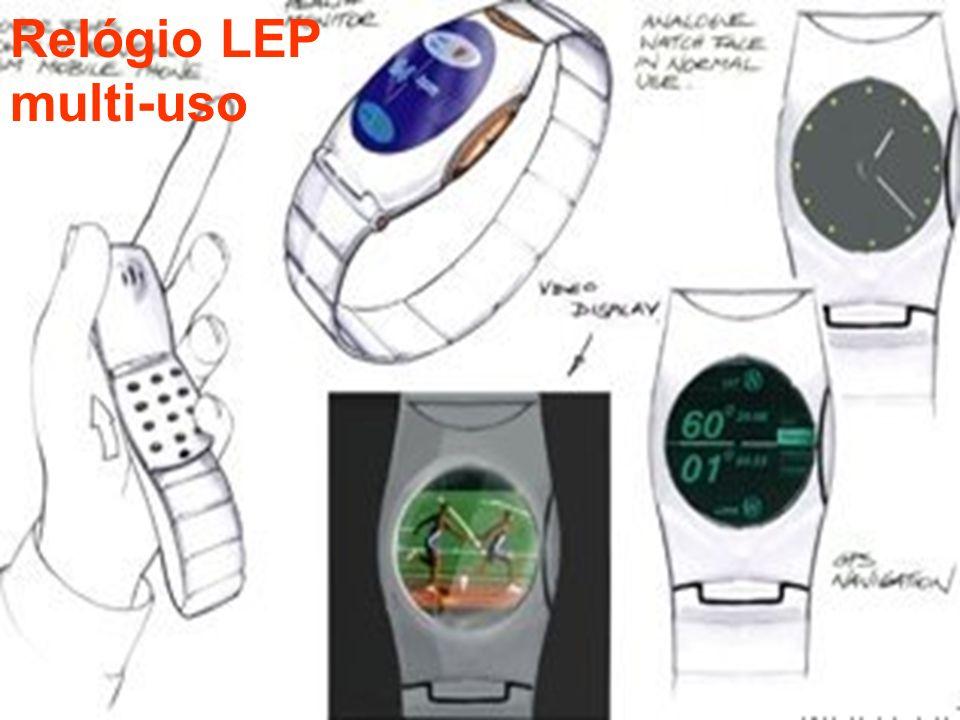 Relógio LEP multi-uso