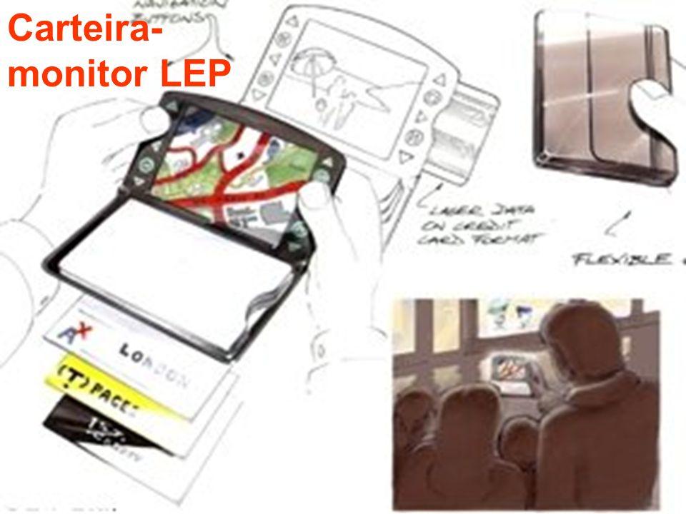 Carteira- monitor LEP