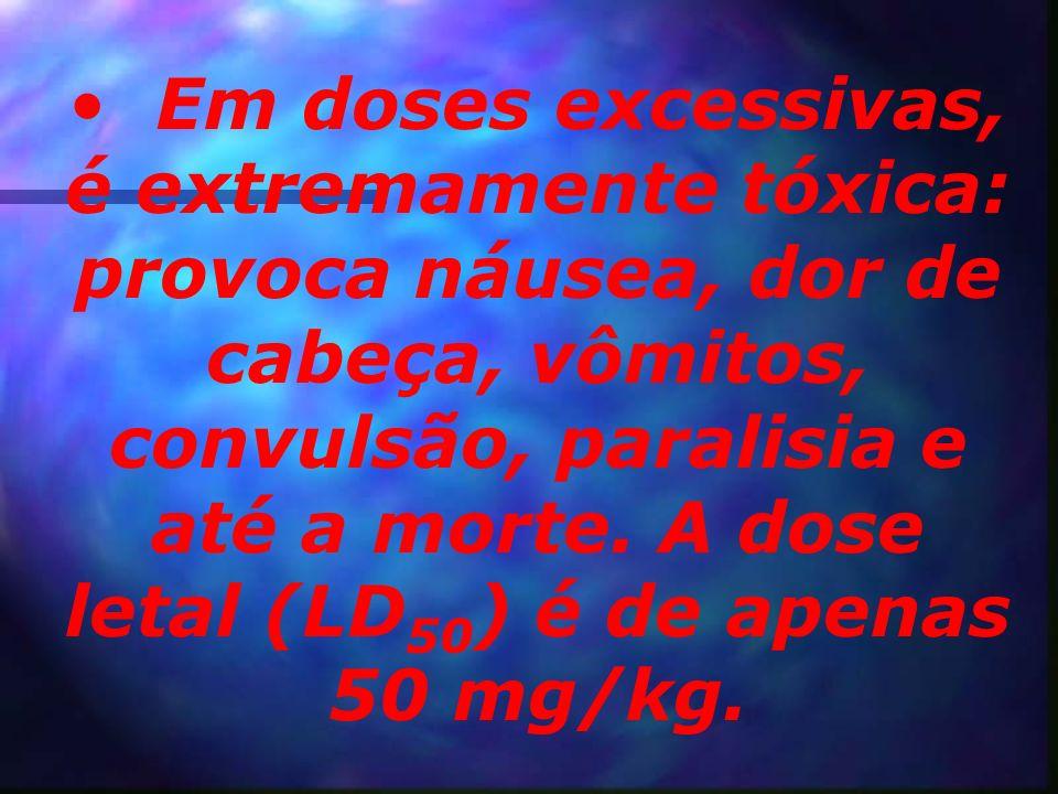 Seu uso causa dependência psíquica e física, provocando sensações desconfortáveis na abstinência.