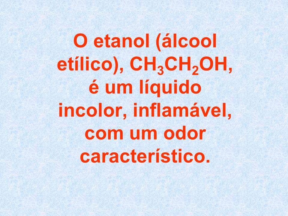 O etanol é utilizado, nas indústrias, como reagente de partida para vários compostos químicos, tais como o ácido acético, butadieno, acetaldeído.