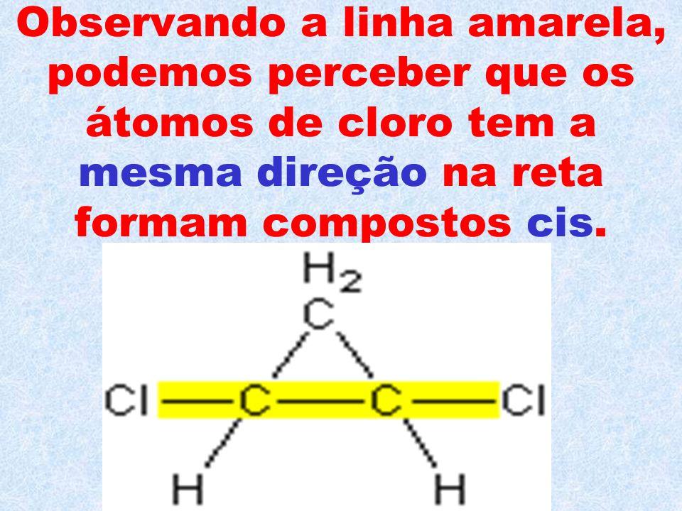 Veja o exemplo do 1,2- dicloro-ciclopropano.