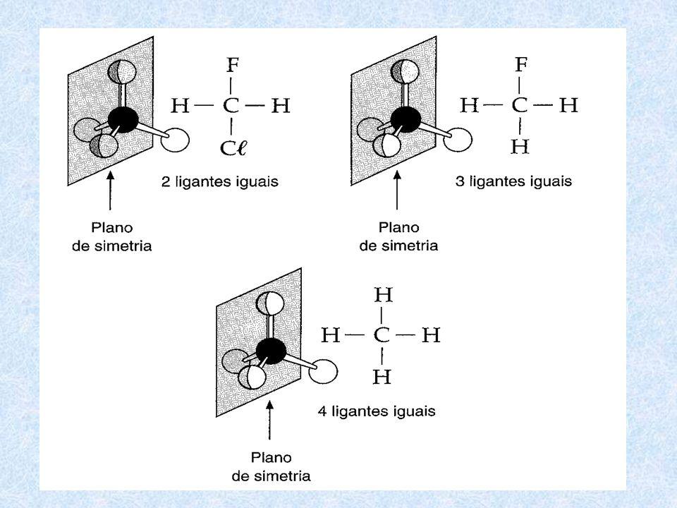 A condição para que ocorra esse tipo de isomeria é que o composto apresente pelo menos um carbono quiral (é o carbono que apresenta quatro ligantes di