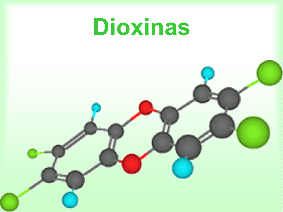 Este termo, na verdade, descreve um grande grupos de compostos orgânicos (mais de 400), sendo que o mais representativo é o 2,3,7,8- tetraclorodibenzo-p-dioxin ou TCDD.
