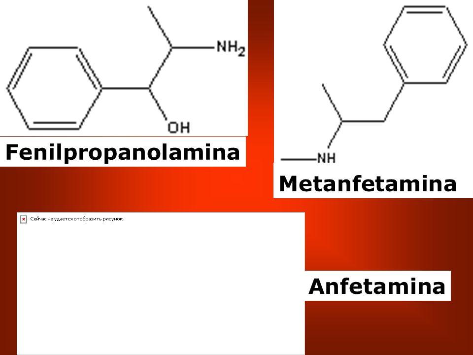 Anfetamina Metanfetamina Fenilpropanolamina