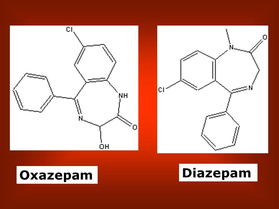Diazepam Oxazepam