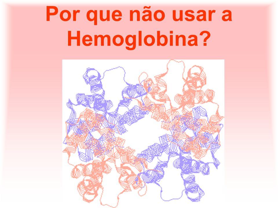 Embora tenha sido uma das primeiras e infrutíferas alternativas, mesmo hoje a hemoglobina tem sido alvo de pesquisa para a sua utilização como substituto do sangue.