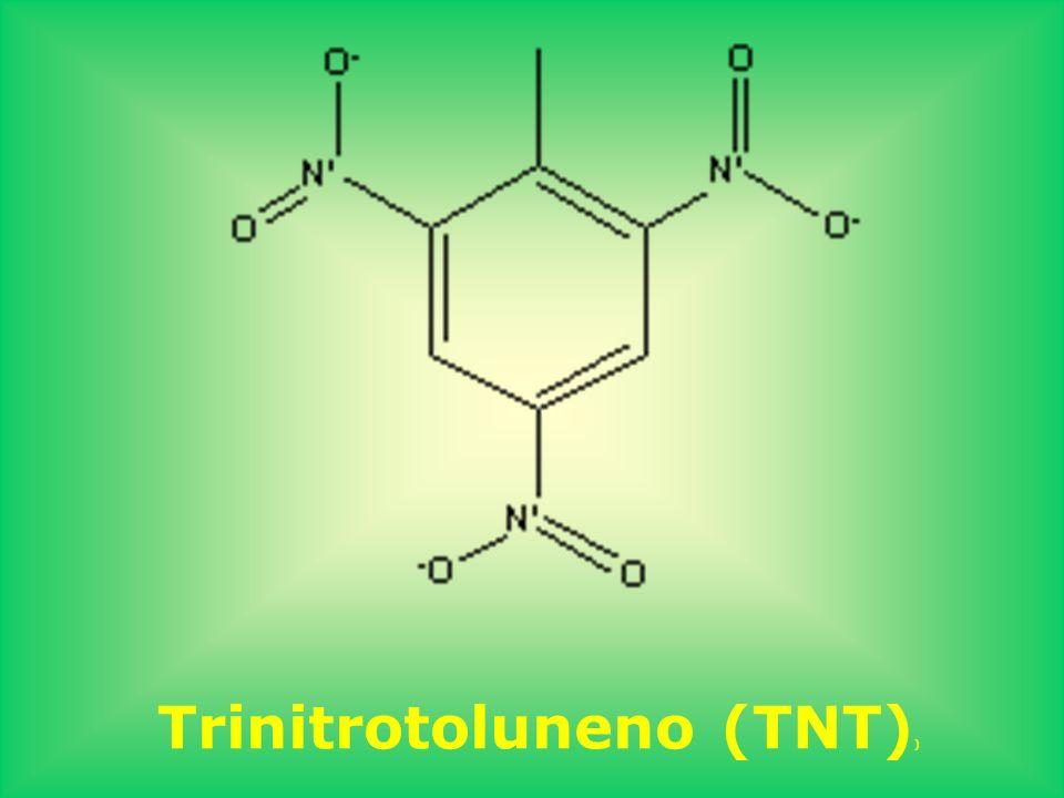 Trinitrotoluneno (TNT) )