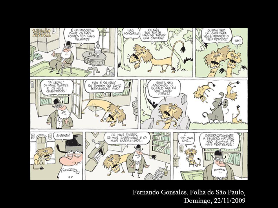 Fernando Gonsales, Folha de São Paulo, Domingo, 22/11/2009