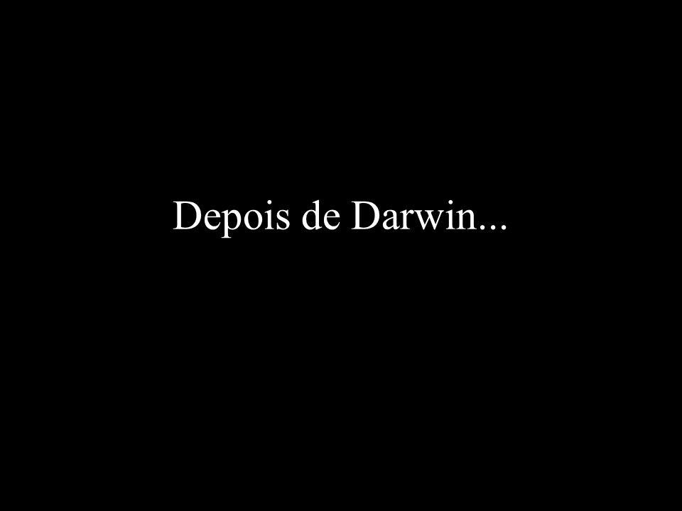 Depois de Darwin...