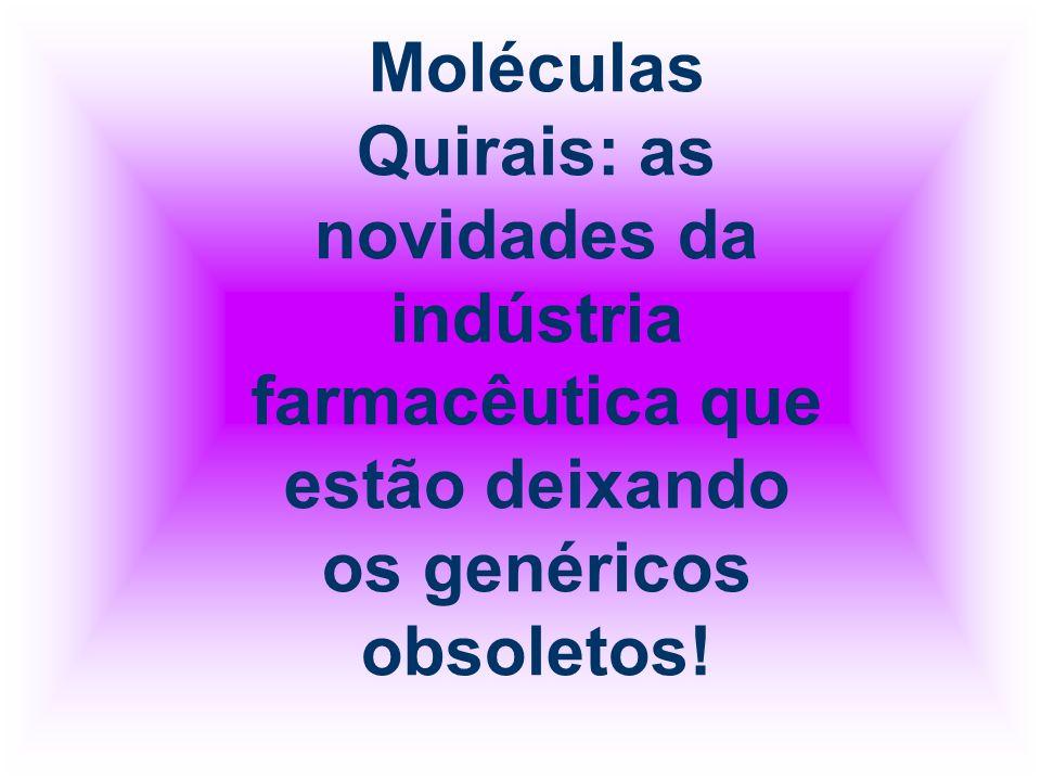 O mesmo acontece com as moléculas quirais - moléculas não superponíveis com sua imagem no espelho.