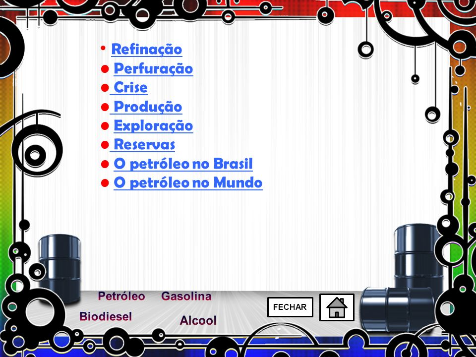 A gasolina é um combustível constituído basicamente por hidrocarbonetos.