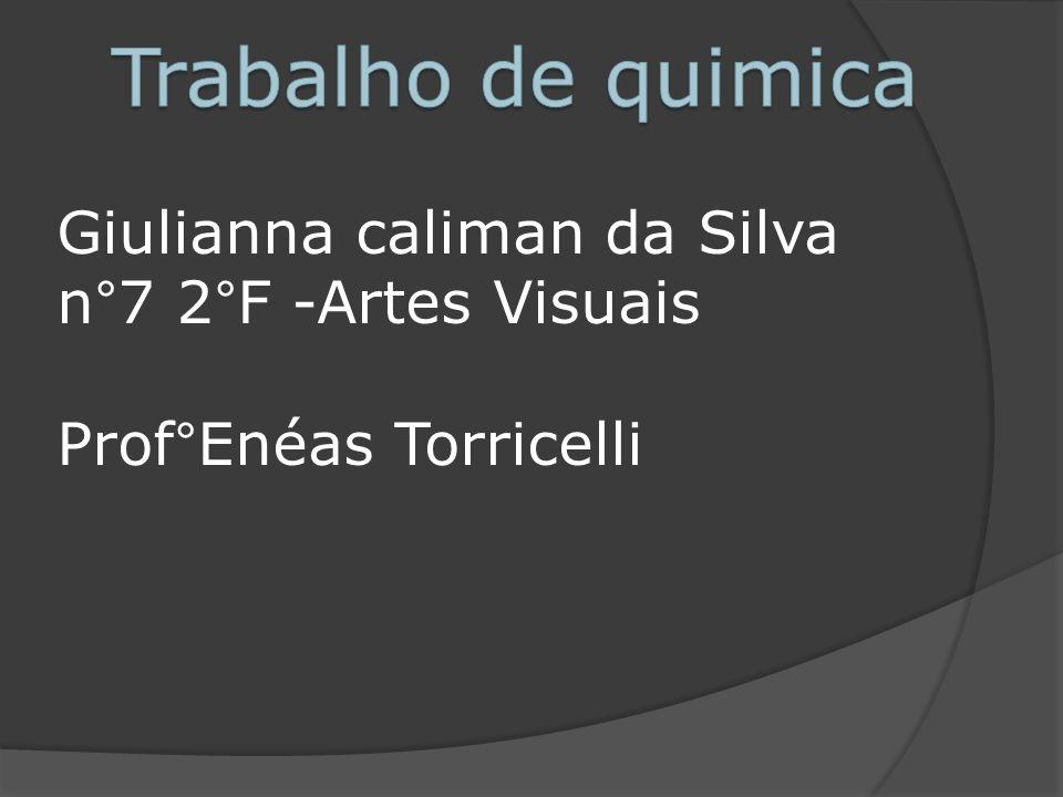 Giulianna caliman da Silva n°7 2°F -Artes Visuais Prof°Enéas Torricelli