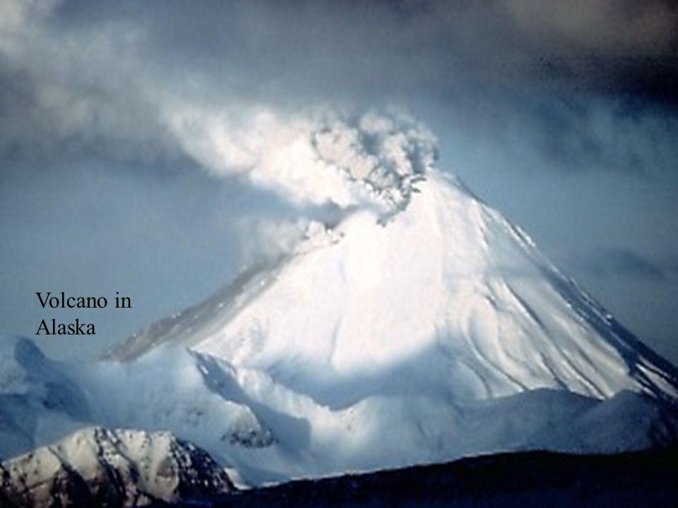Volcano in Alaska