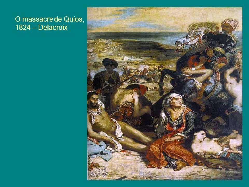 O massacre de Quíos, 1824 – Delacroix