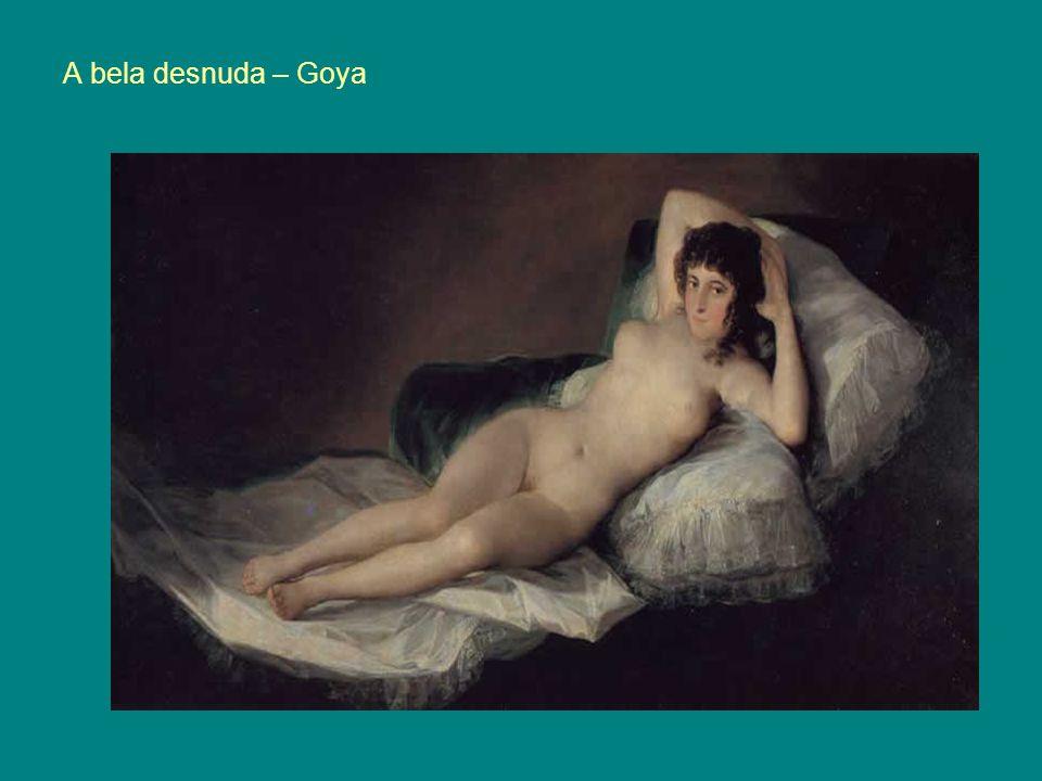 A bela desnuda – Goya