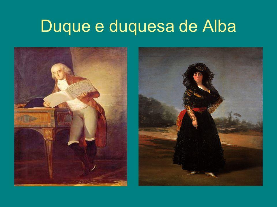 Duque e duquesa de Alba