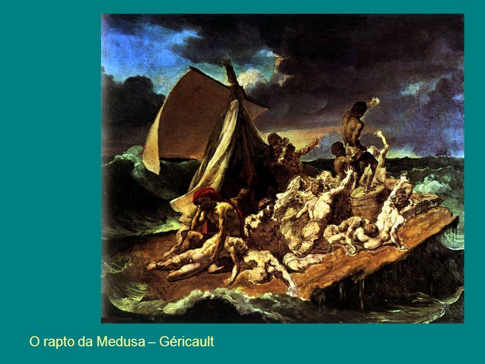 O rapto da Medusa – Géricault