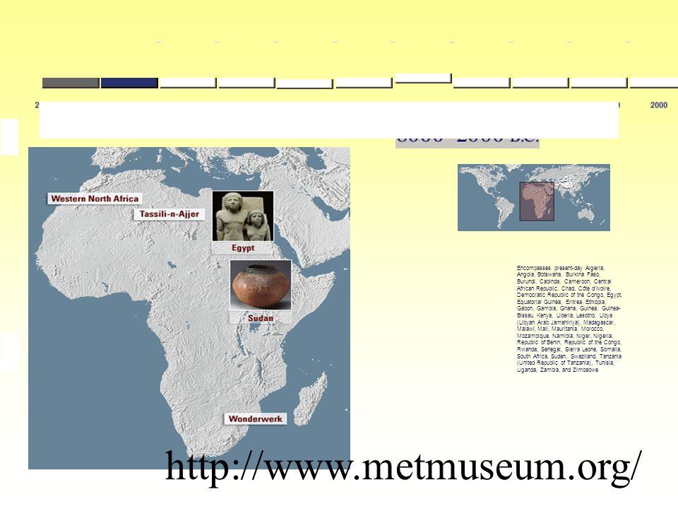 Encompasses present-day Algeria, Angola, Botswana, Burkina Faso, Burundi, Cabinda, Cameroon, Central African Republic, Chad, Côte d'Ivoire, Democratic