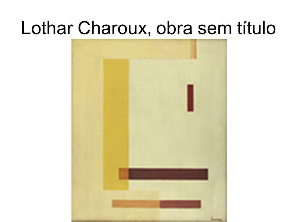 Lothar Charoux, obra sem título