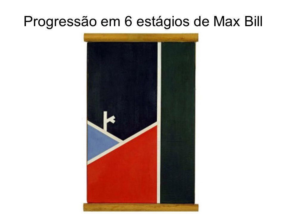 Progressão em 6 estágios de Max Bill