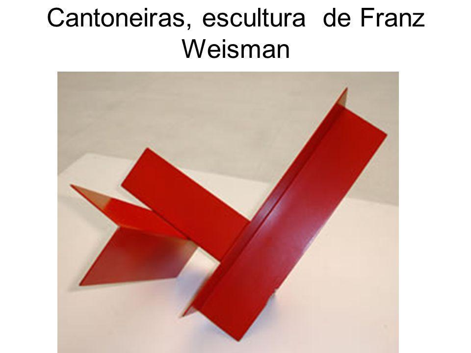 Cantoneiras, escultura de Franz Weisman