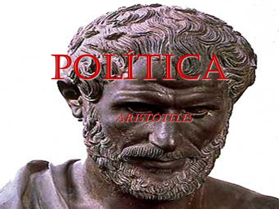 POLÍTICA ARISTÓTELES