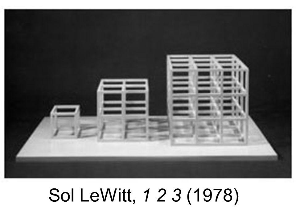 Sol LeWitt, 1 2 3 (1978)