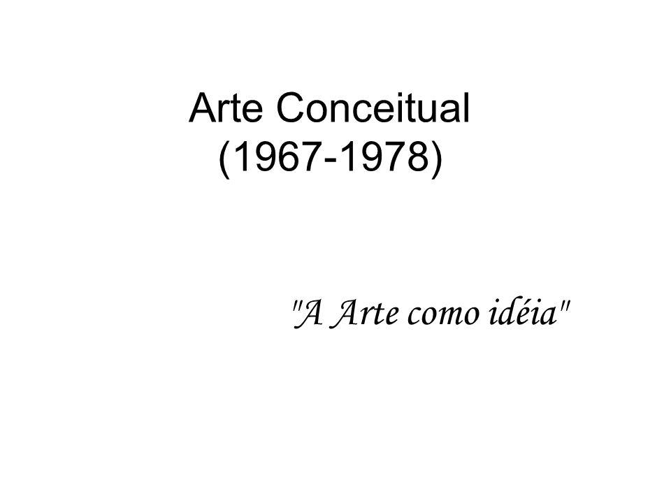 Arte Conceitual (1967-1978)