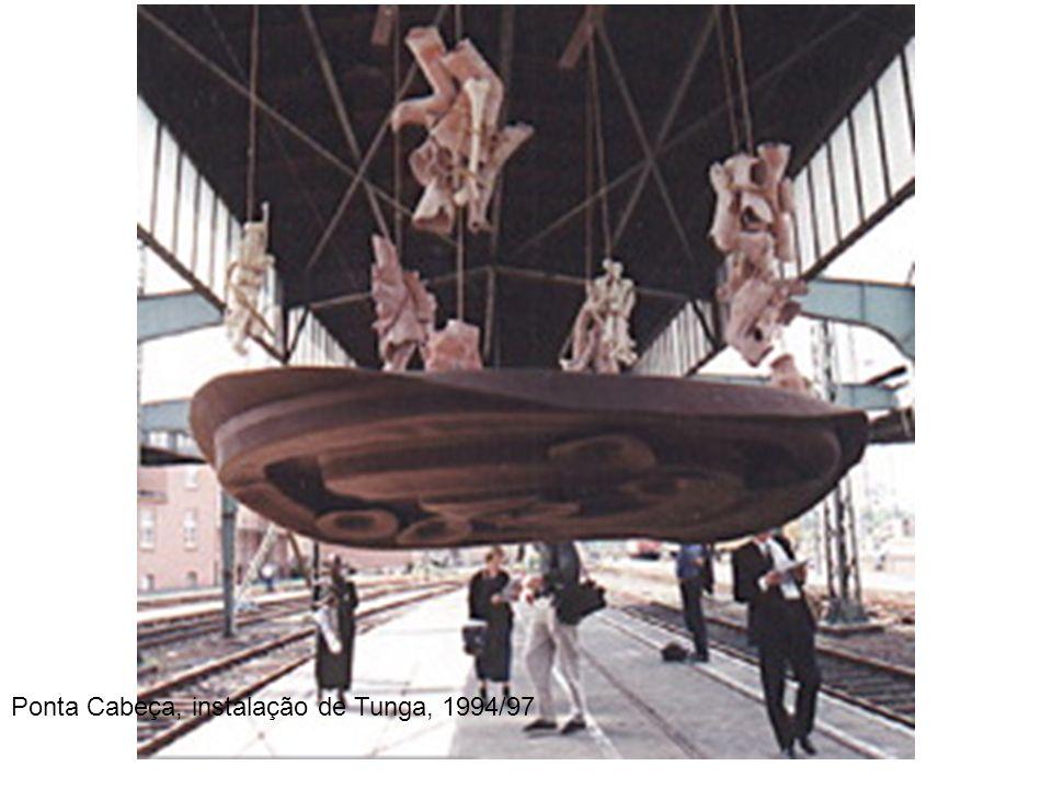 Ponta Cabeça, instalação de Tunga, 1994/97