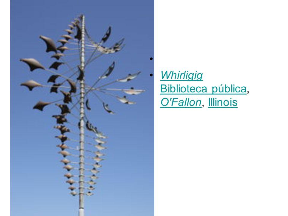 Whirligig Biblioteca pública, O'Fallon, IllinoisWhirligig Biblioteca pública O'FallonIllinois