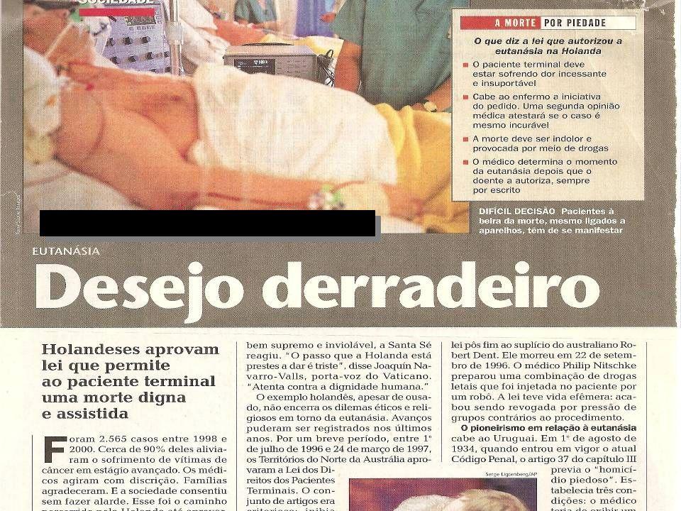 REVISTA ÉPOCA ANO III Nº 133, 4/12/2000