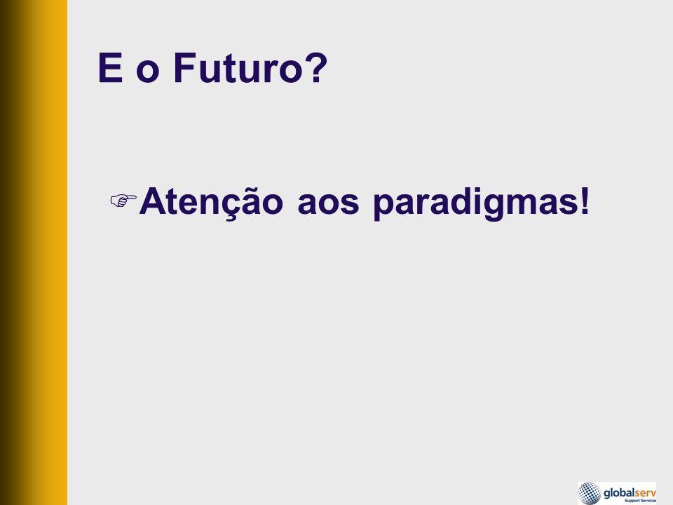 E o Futuro? Atenção aos paradigmas!