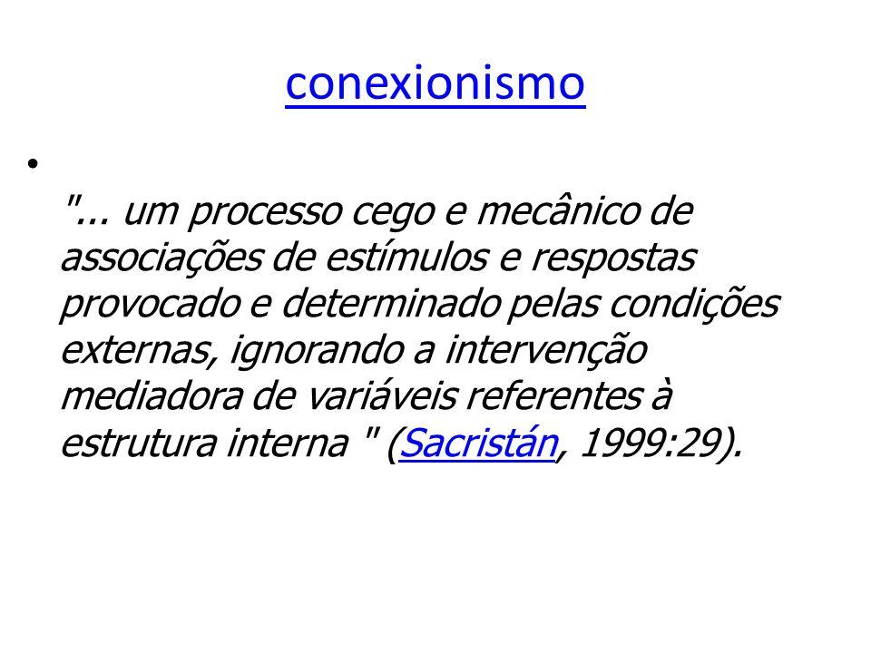 conexionismo ...