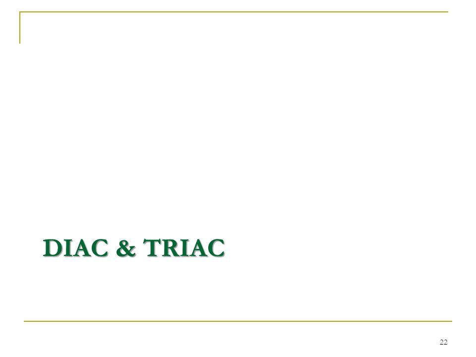 DIAC & TRIAC 22