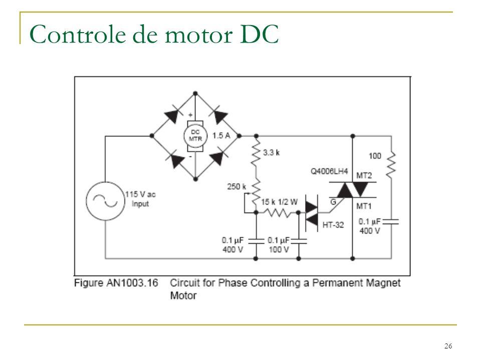 Controle de motor DC 26
